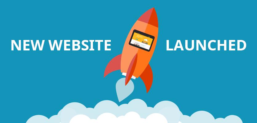 Nieuwe website online.